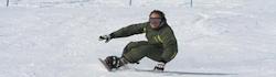 Raymond Witvoet snowboarden