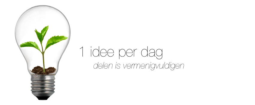 1 idee per dag