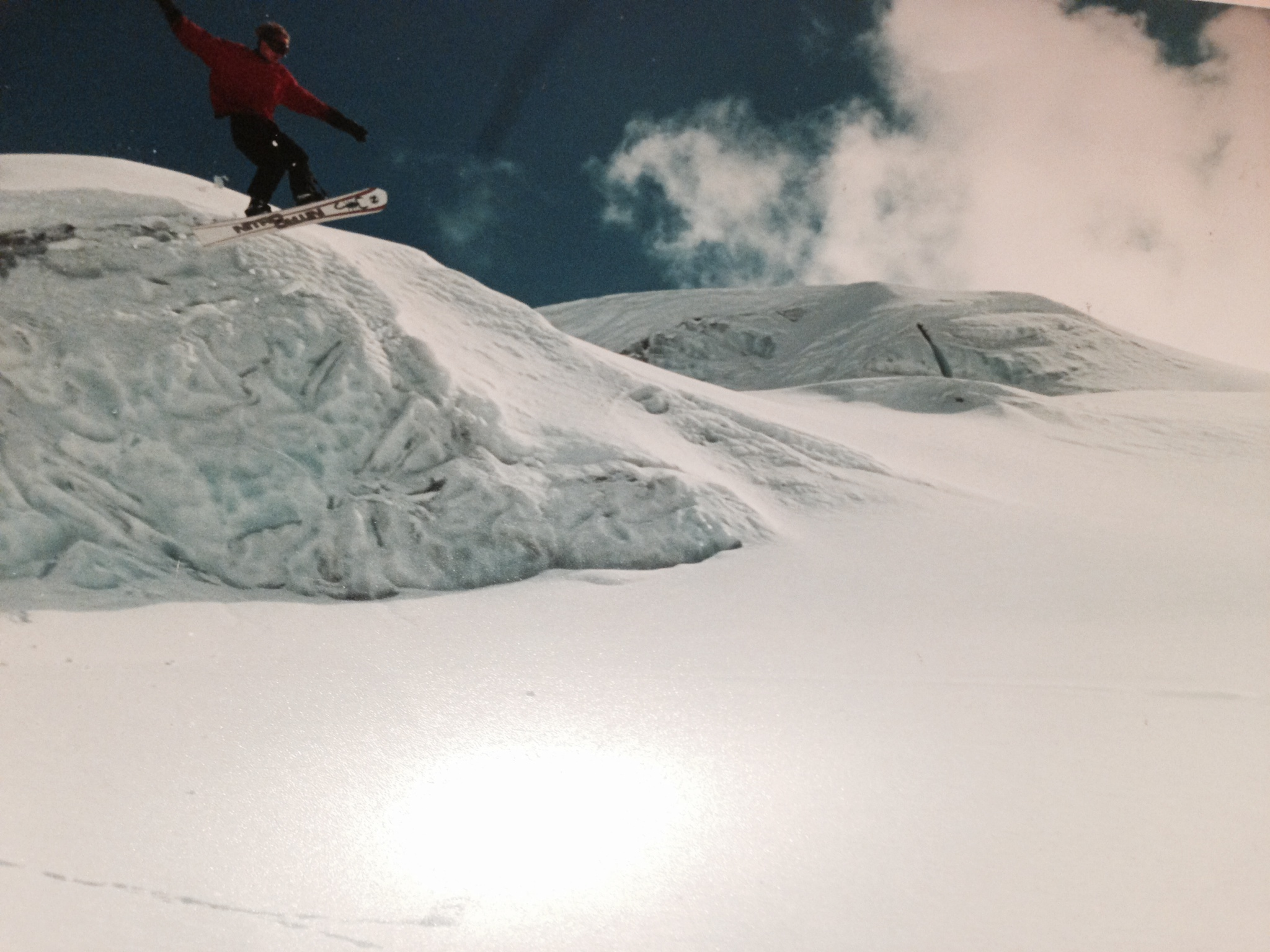 Raymond Witvoet snorbaard jump rettenbach 1994