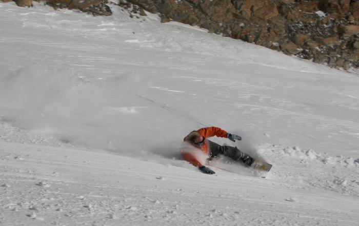 Snowboarden stubai 3