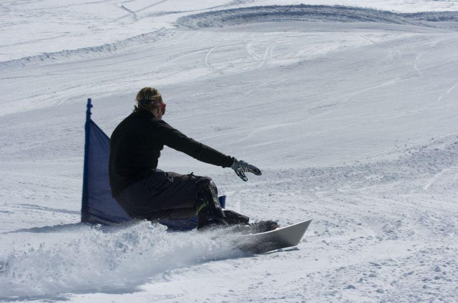 Raymond Witvoet Alpine Snowboarden