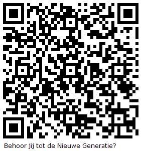 QR Code Nieuwe Generatie